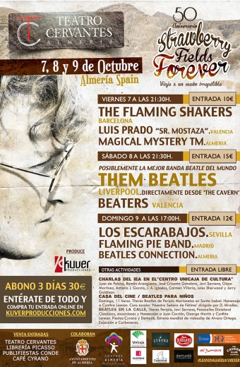 50 ANIVERSARIO 'STRAWBERRY FIELDS FOREVER' – CONCIERTOS VIERNES 7