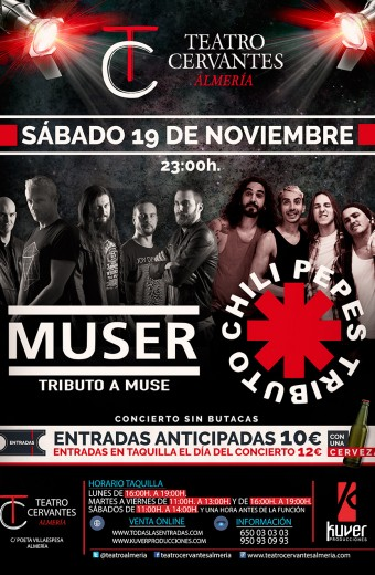 TRIBUTO A MUSE & TRIBUTO A RED HOT CHILI PEPPERS