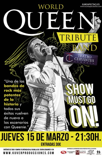 WORLD QUEEN TRIBUTE BAND – SHOW MUST GO ON!